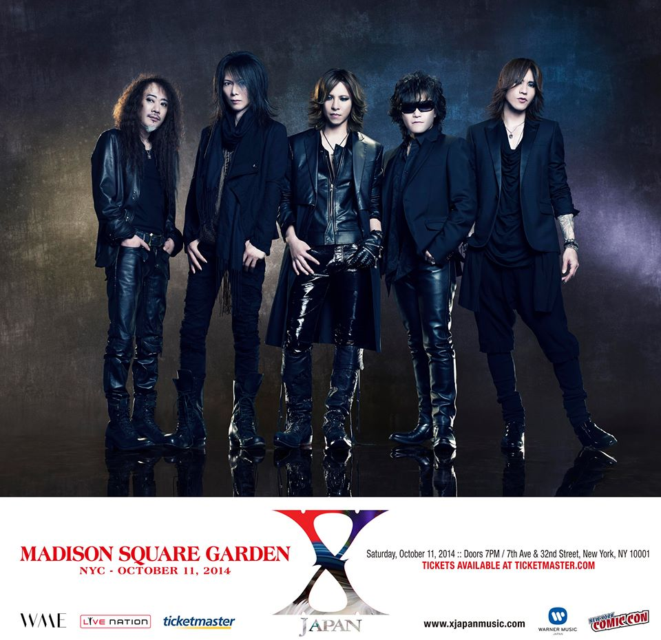 <Source:X JAPAN Official Facebook>