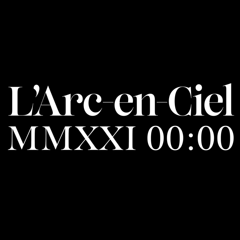 L'Arc~en~Ciel announcement